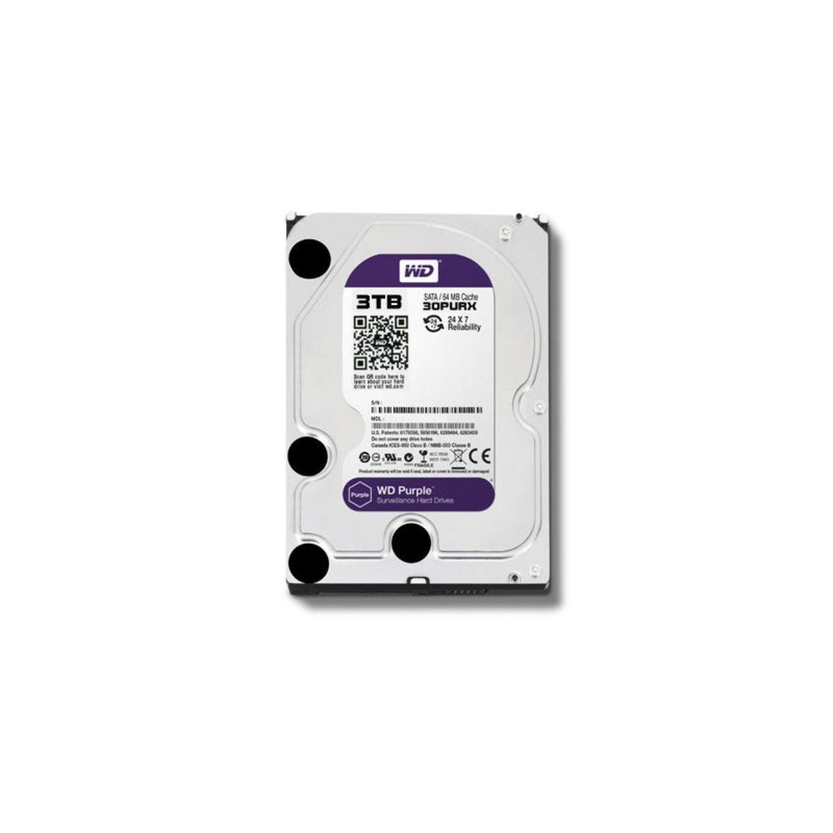 3.5 吋 錄影專用 3TB SATA 內置硬碟 30PURX