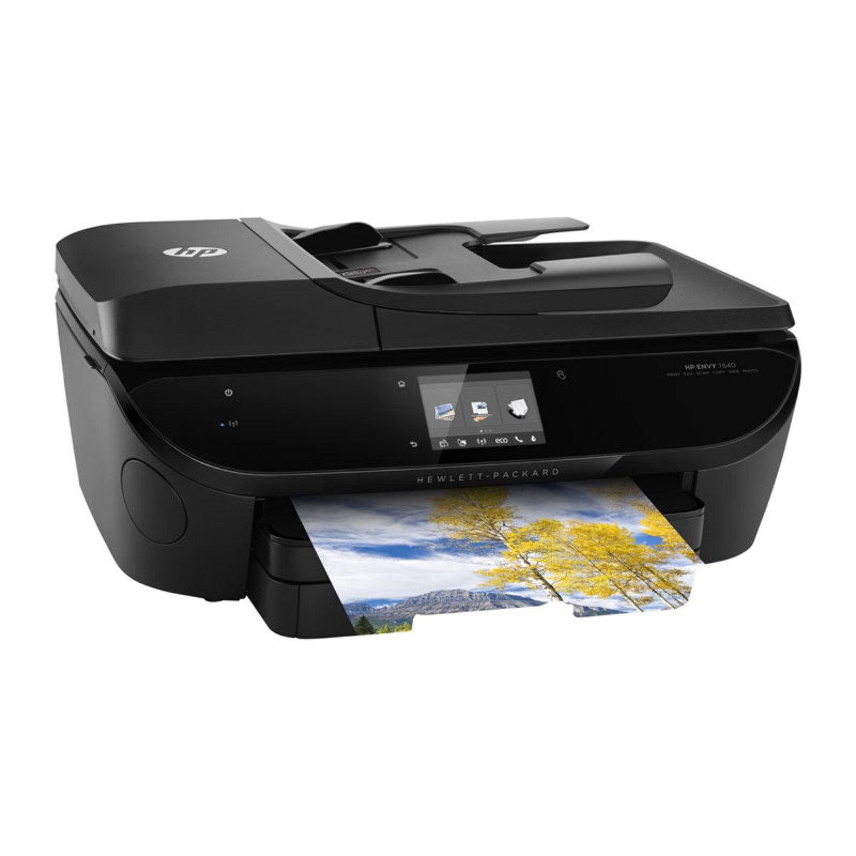 HP Envy 相片及文件多合一打印機 ENVY 7640