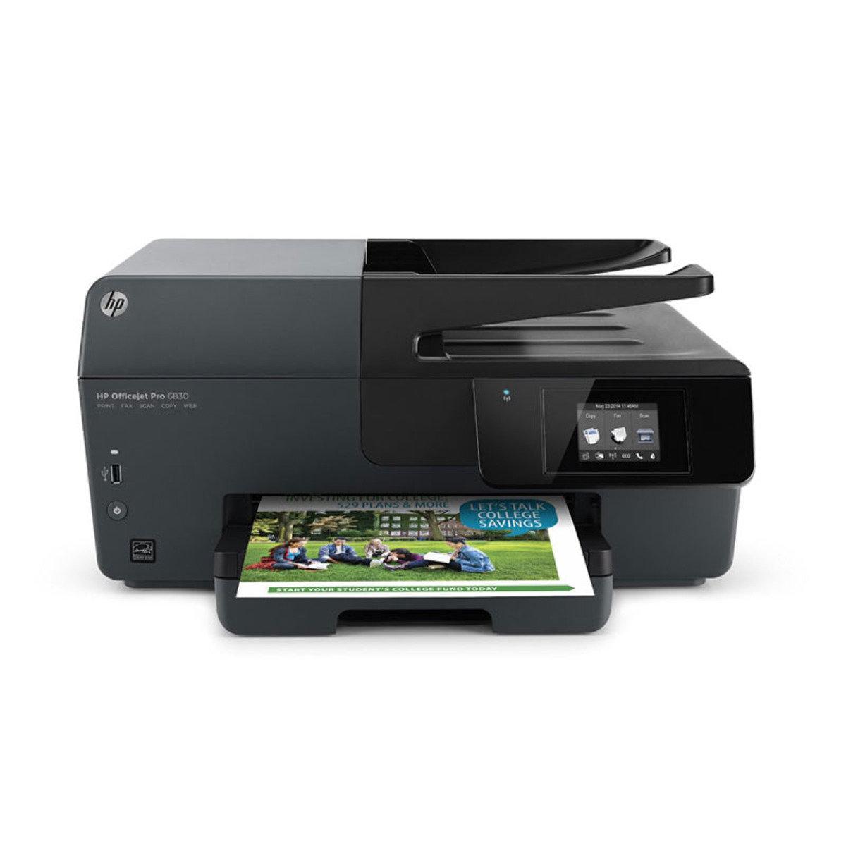 HP Officejet 商業油墨多功能打印機 Officejet Pro 6830