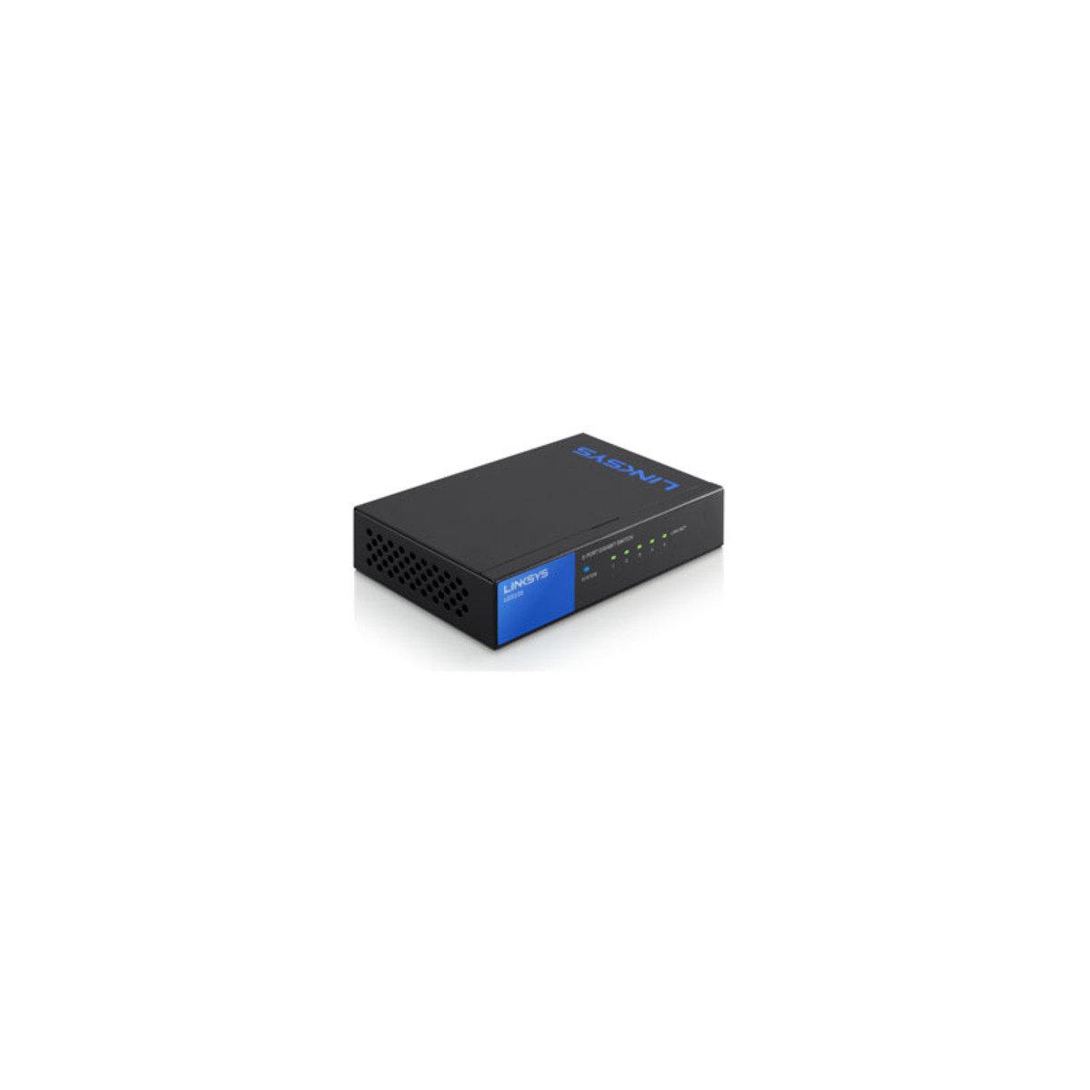 5-Ports Gigabit 網絡分線器 LGS105-AP
