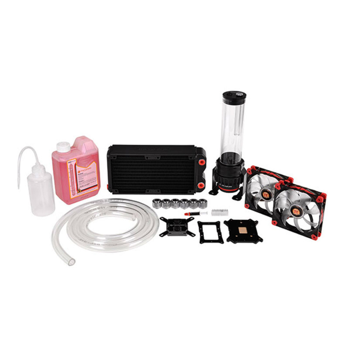DIY玩家級 中央處理器 240mm液冷散熱器 Pacific RL240 Water Cooling Kit