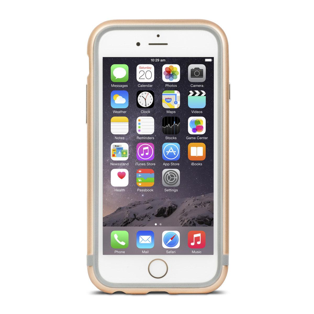 official photos 02c05 10218 Moshi | iGlaze Luxe Metal Bumper Case for iPhone 6 [Gold] | HKTVmall ...