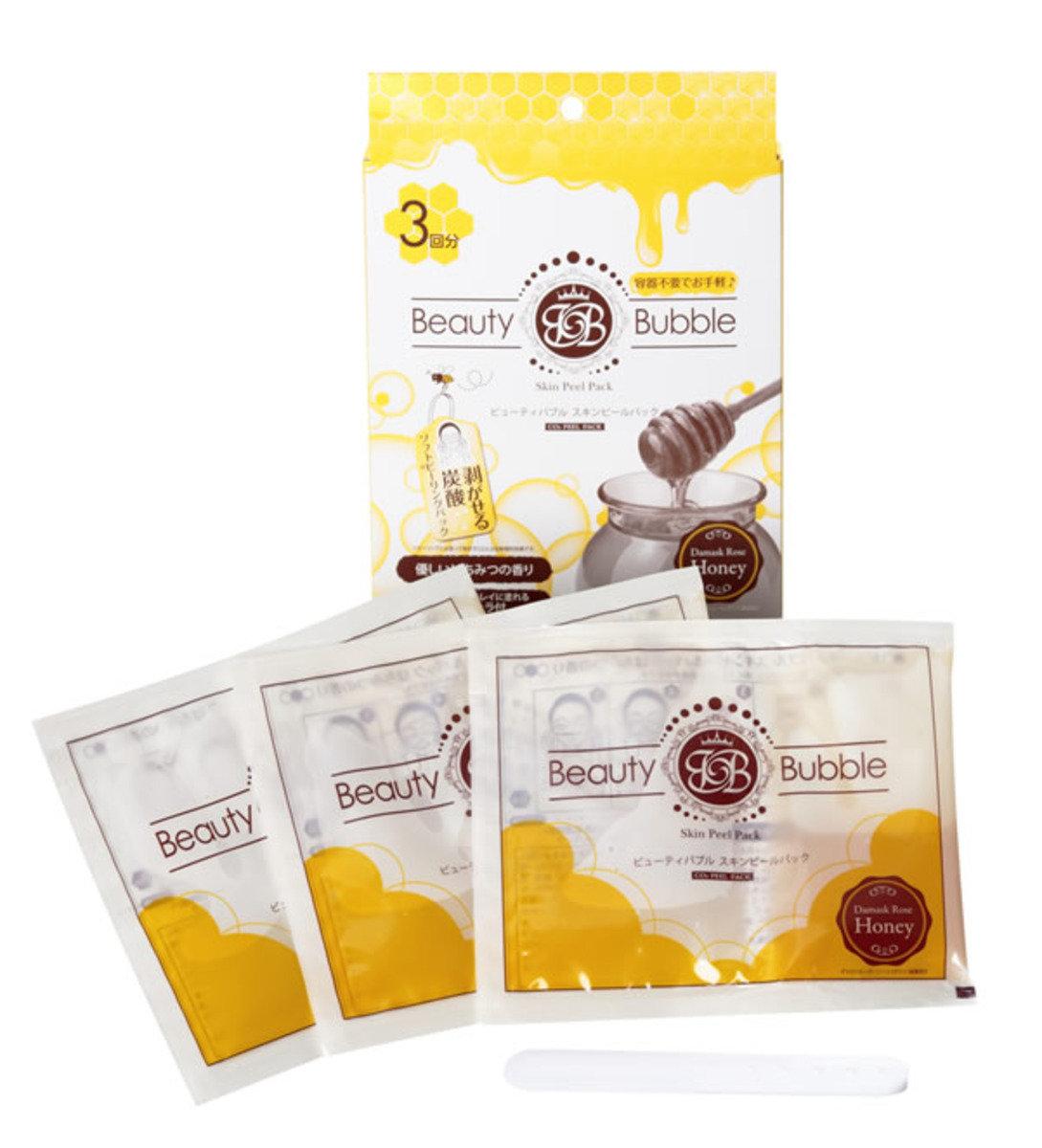 高保濕蜂蜜炭酸面膜 (3片入)