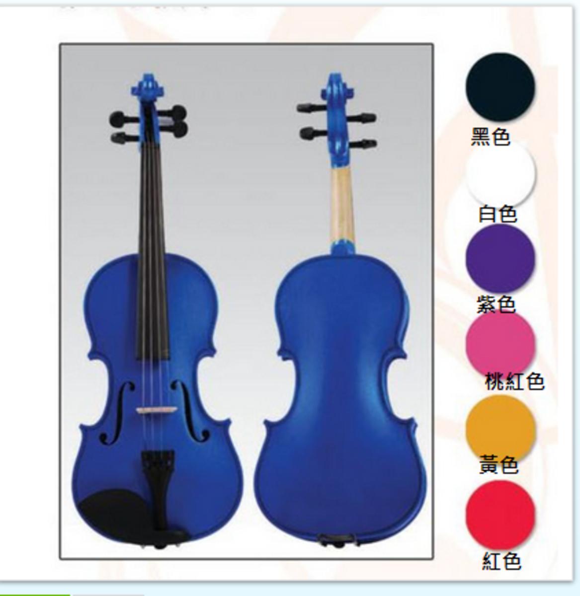 彩色小提琴