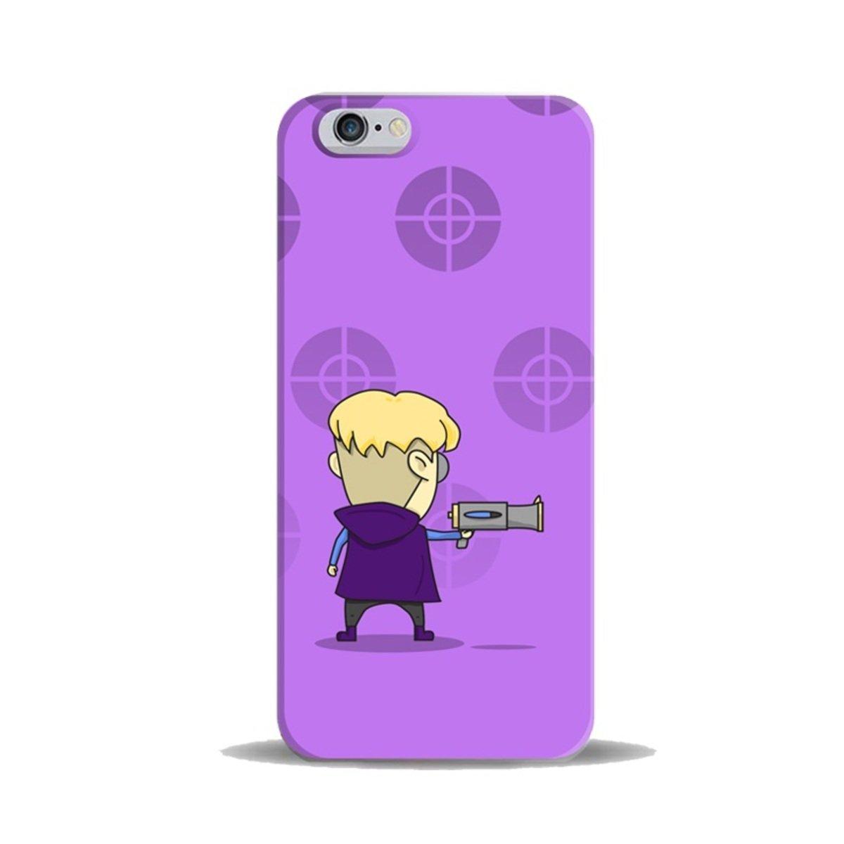 """iPhase - iPhone 6 (4.7"""") 手機膠殼電話保護套 4.7寸 (Dick) (另有適合iPhone 6 Plus 5.5寸型號)"""