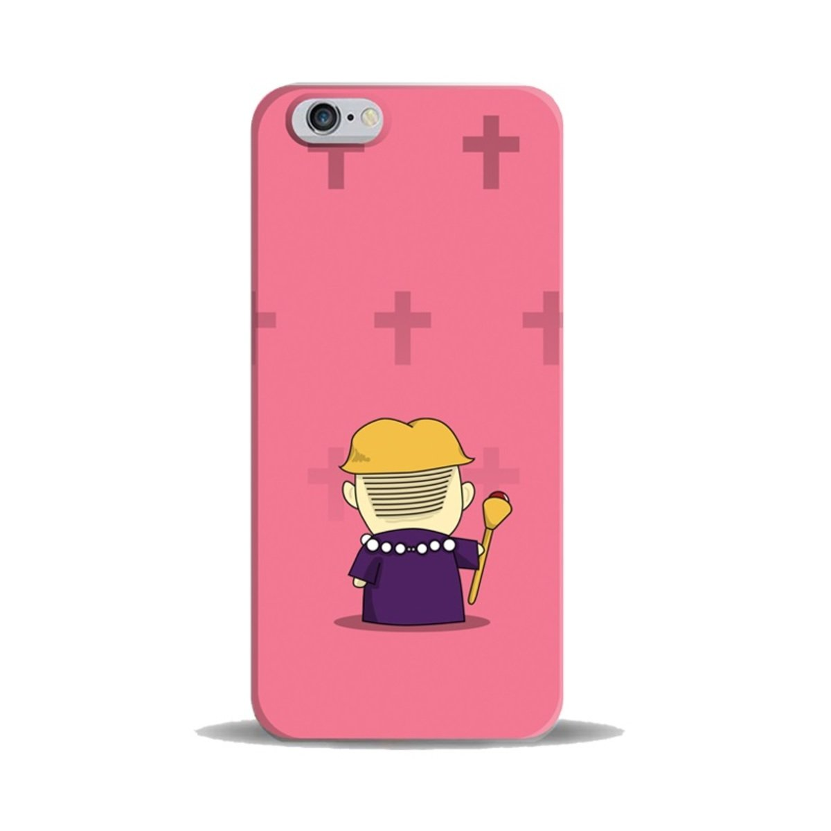 "iPhase - iPhone 6 (4.7"") 手機膠殼電話保護套 4.7寸 (God Father) (另有適合iPhone 6 Plus 5.5寸型號)"