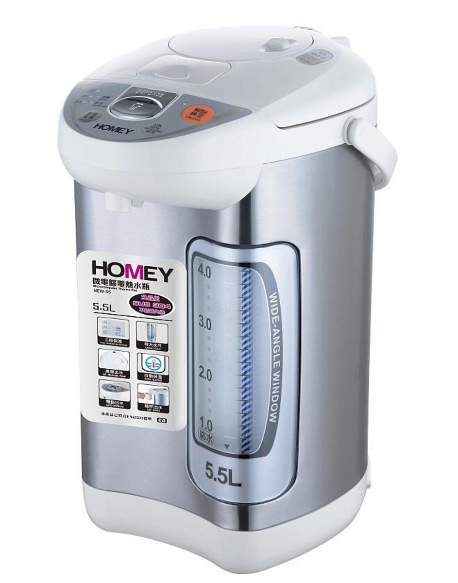 微電腦電熱水瓶 NEW-55