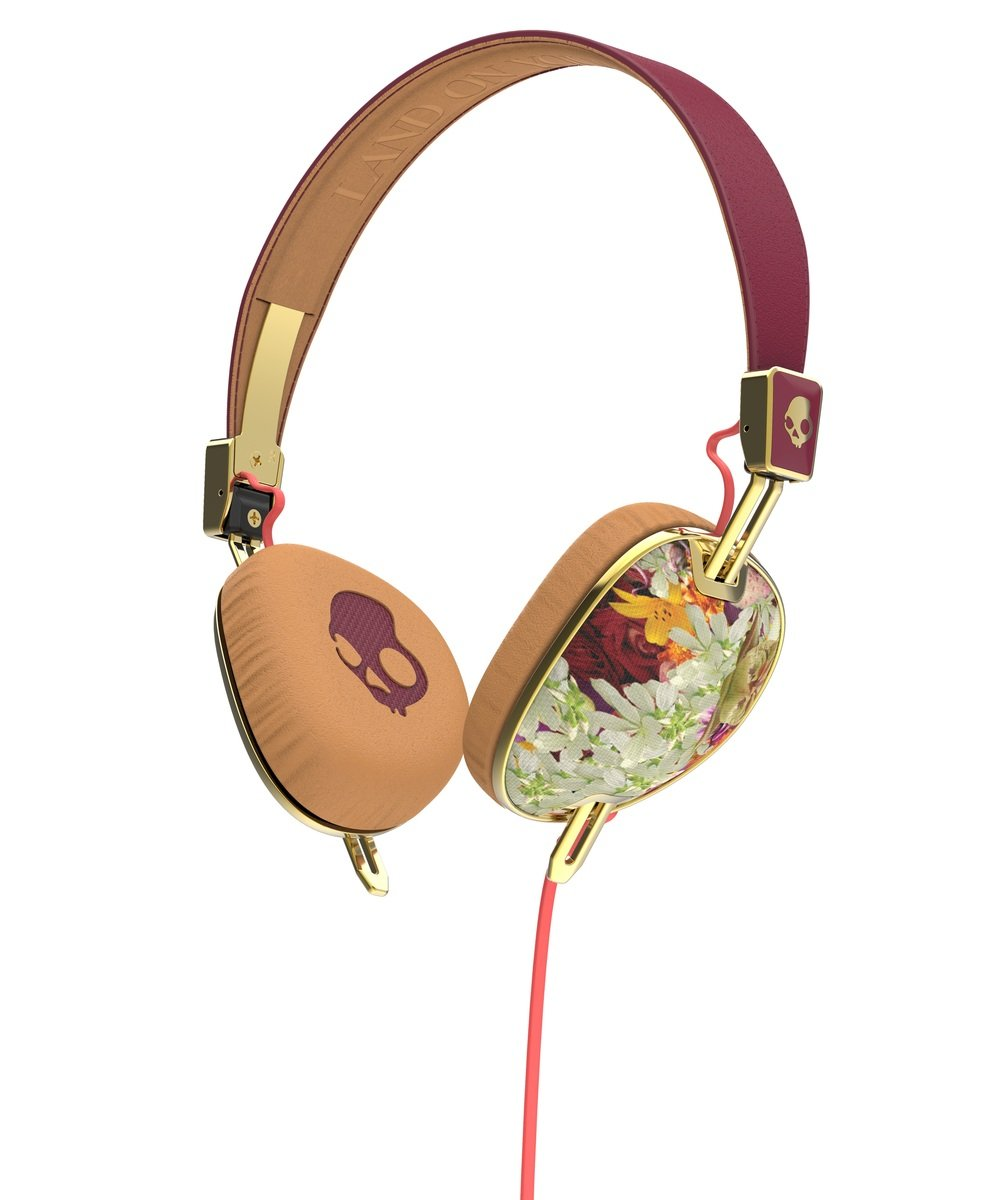 Knockout FLORAL/BURGUNDY/ROSE GOLD Mic3
