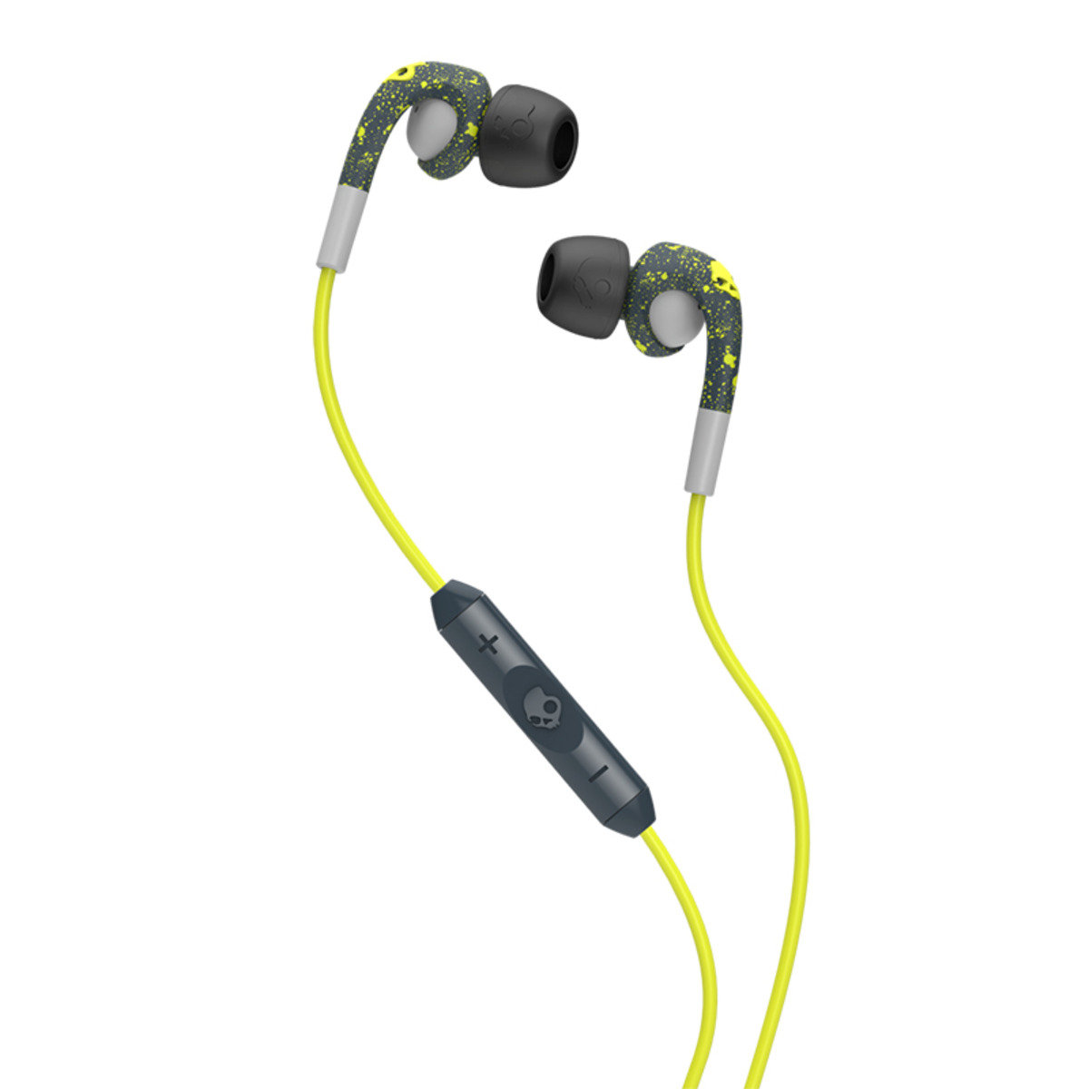 FIX In Ear DK GRY/LGT GRY/HOT LIME Mic3