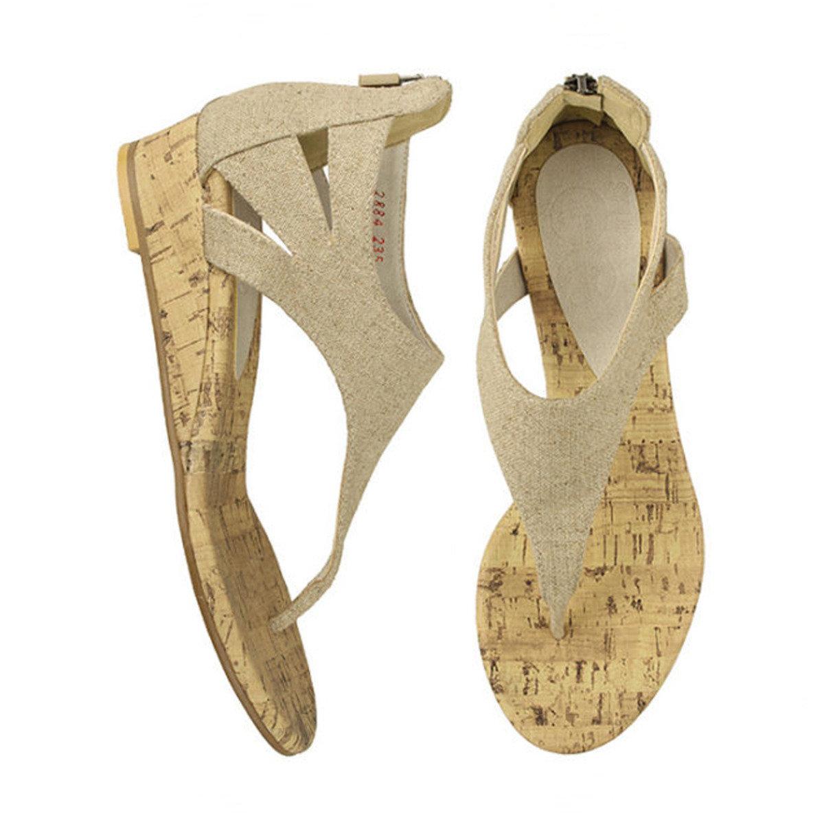 簡約夾腳涼鞋