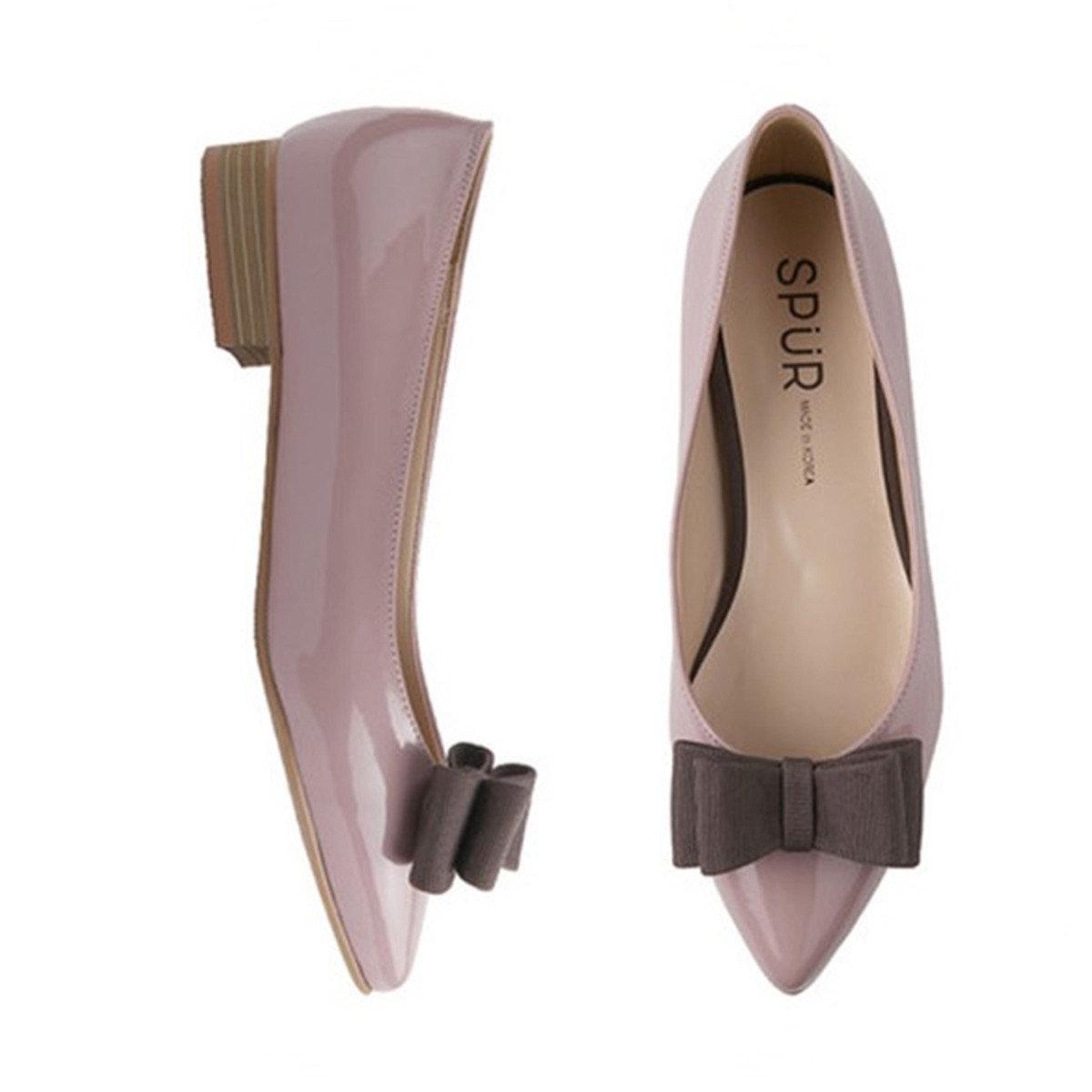 高貴尖頭平底鞋