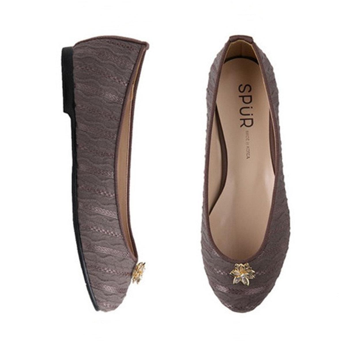 波浪蕾絲平底鞋