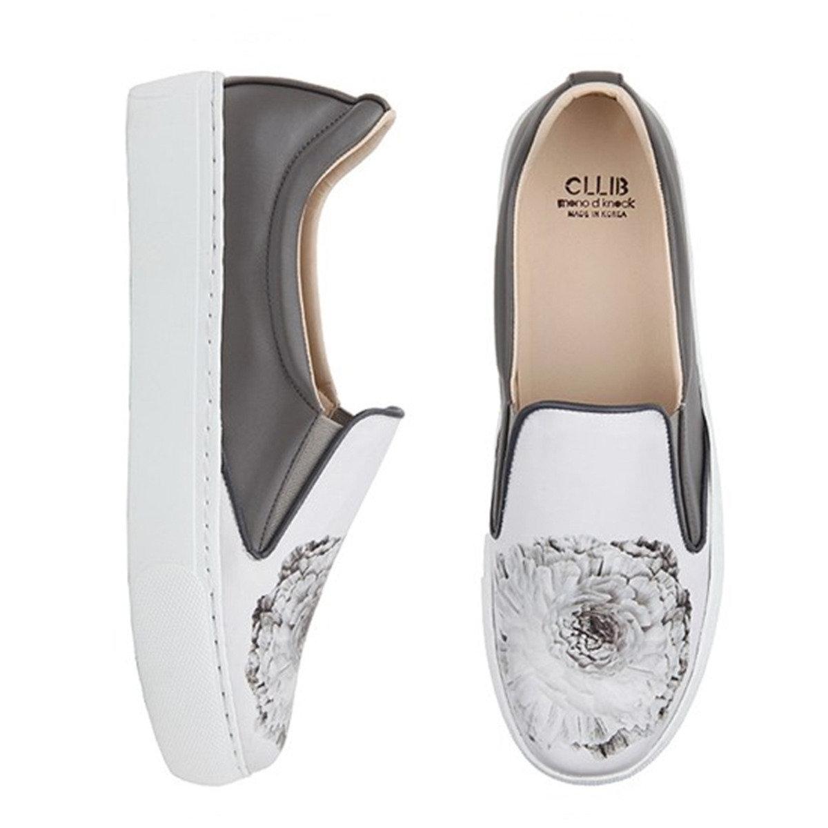花朵厚底輕便鞋