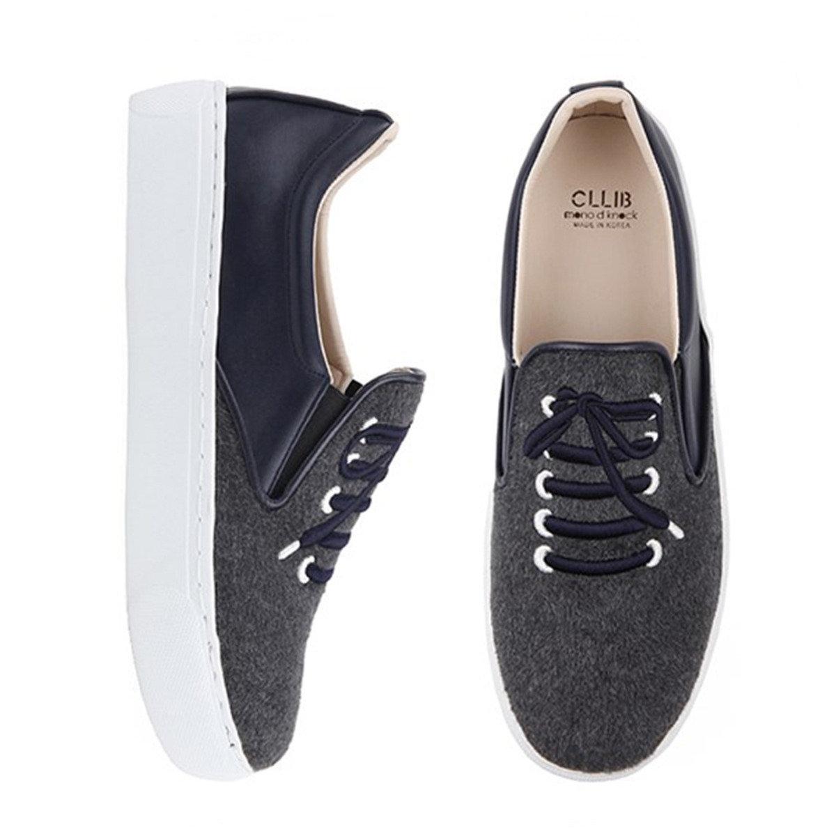 刺繡圖案厚底輕便鞋