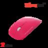 2.4Ghz 超薄無線滑鼠 (藍/粉紅)