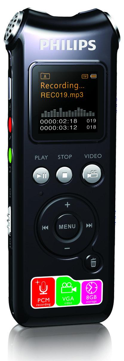 Philips - 數碼降噪錄音筆 VTR-8000