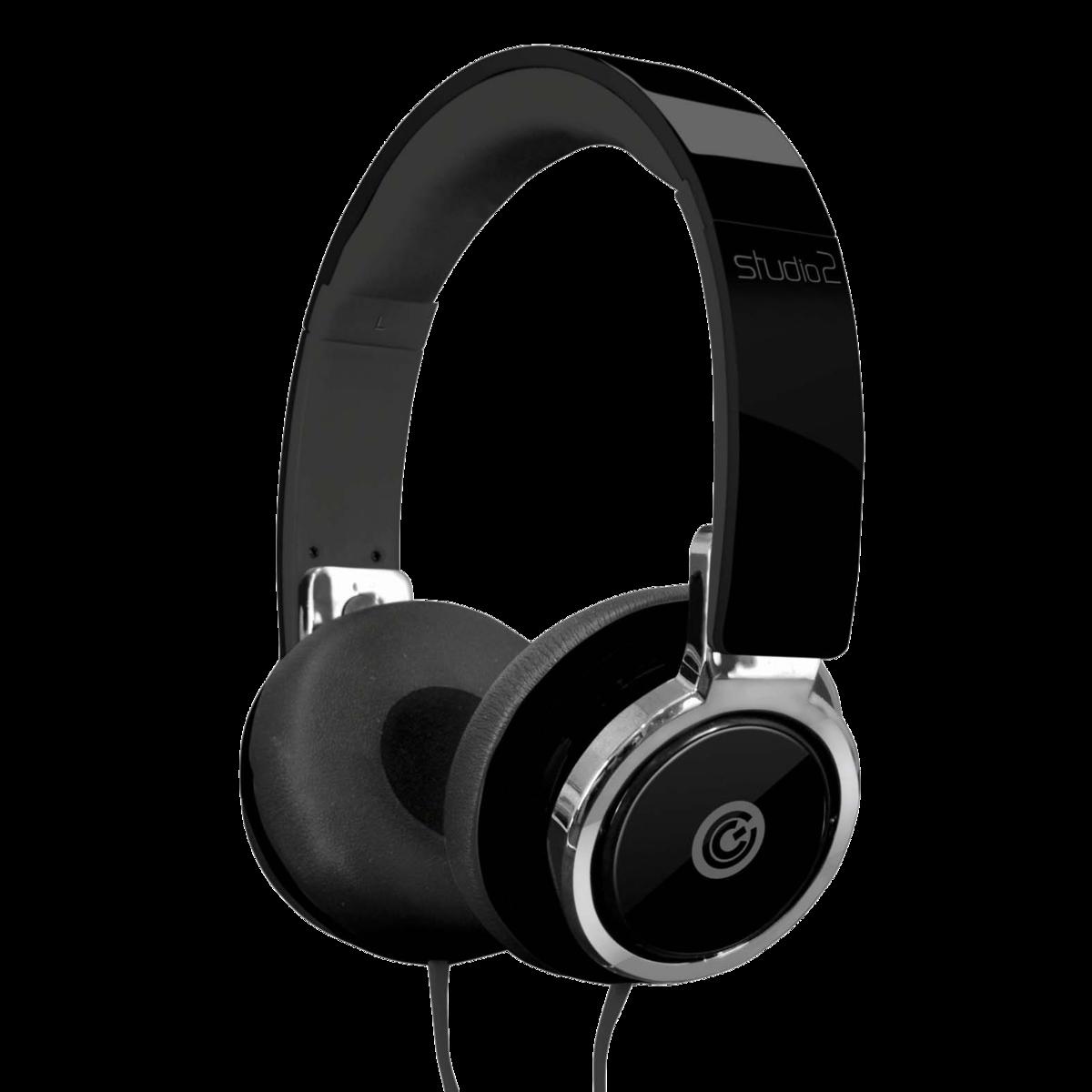 SONIC GEAR 貼耳折疊式耳機_黑色