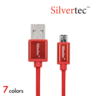 Micro USB Cable 1.8m Micro充電線 (7色)