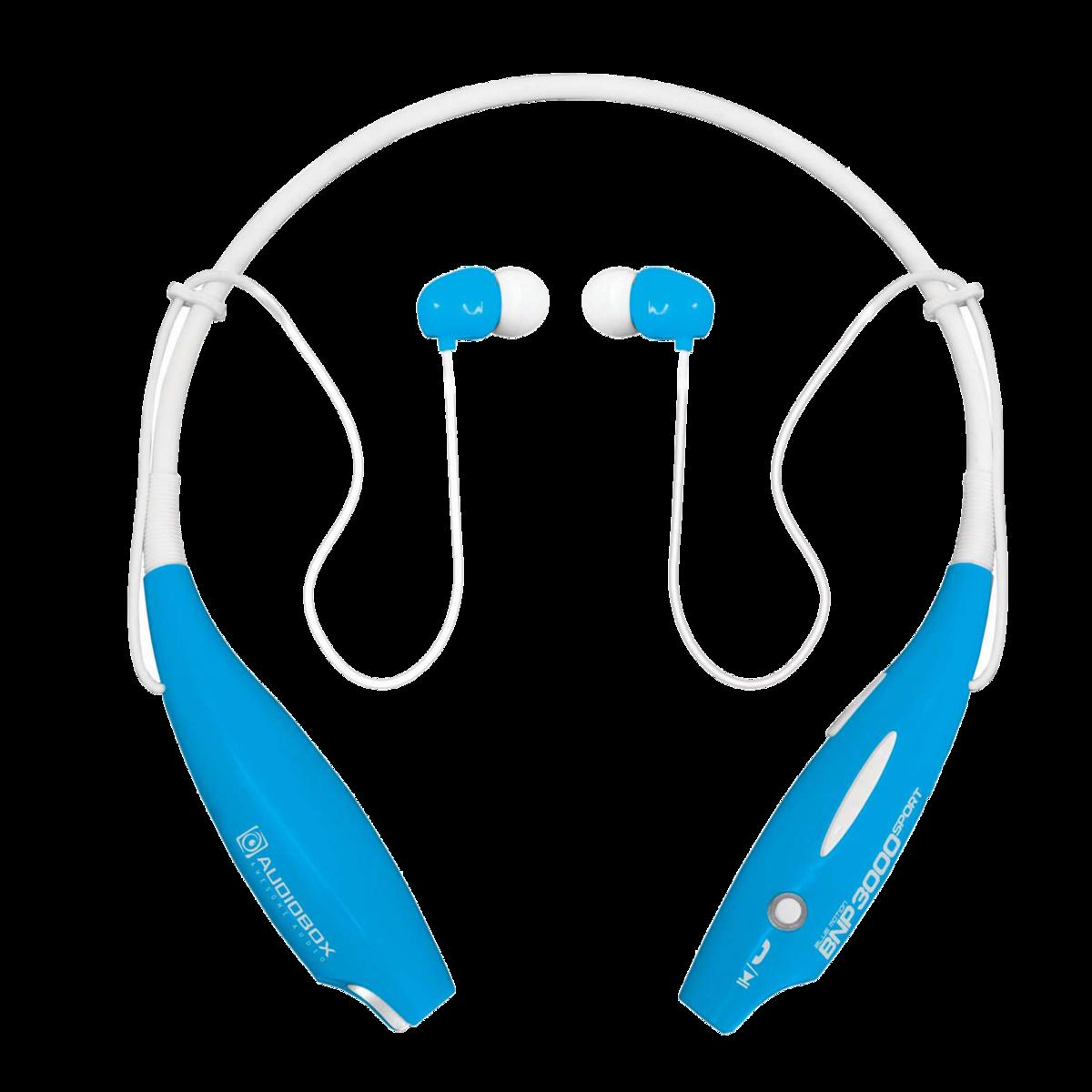 SONIC GEAR 舒適悠閒運動型藍牙耳機_白藍色