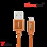 BC-LI0122 22cm 快速充電數據雙面LIGHTNING線 (7色)