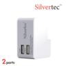 G1602 兩埠 USB旅行充電器(附4款插頭轉換)