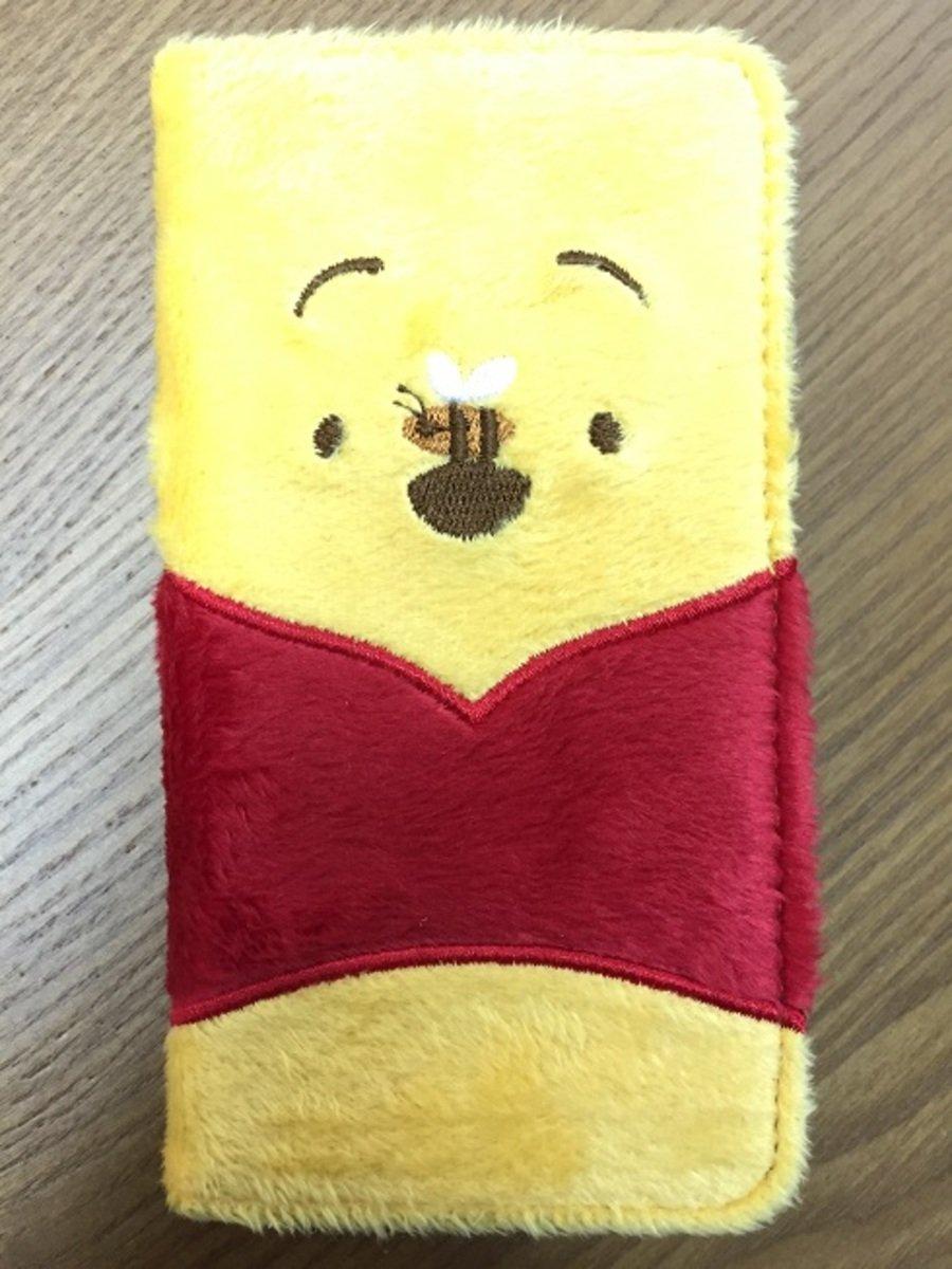 Winnie The Pooh flannelette folio iPhone 6 plus