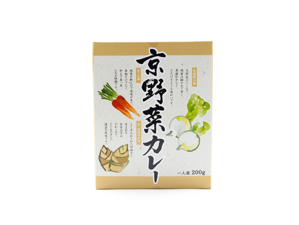 日本傳統 - 京野菜咖哩
