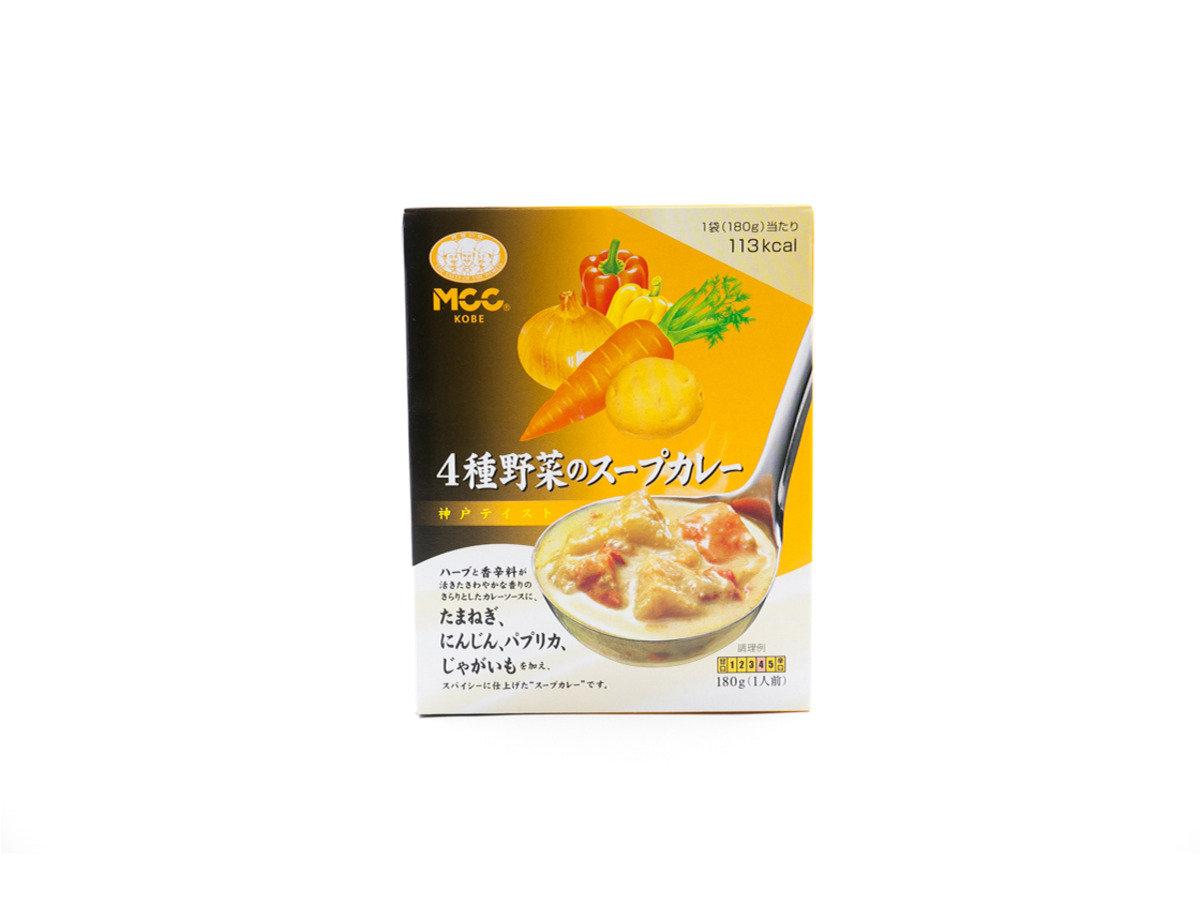 MCC 神戶咖哩系列 - 4種野菜