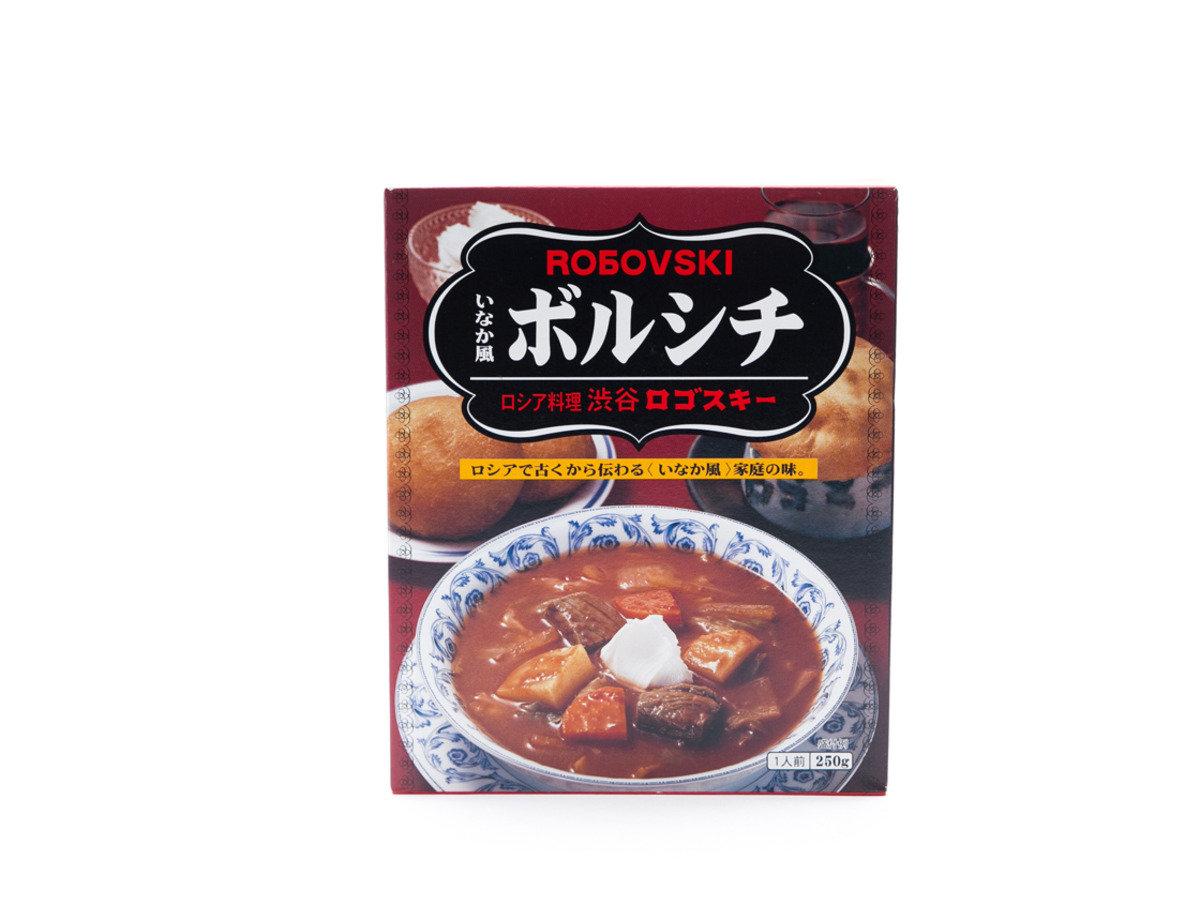 日本64年歷史老舖(渋谷ロゴスキー) - 鄉村風味羅宋湯