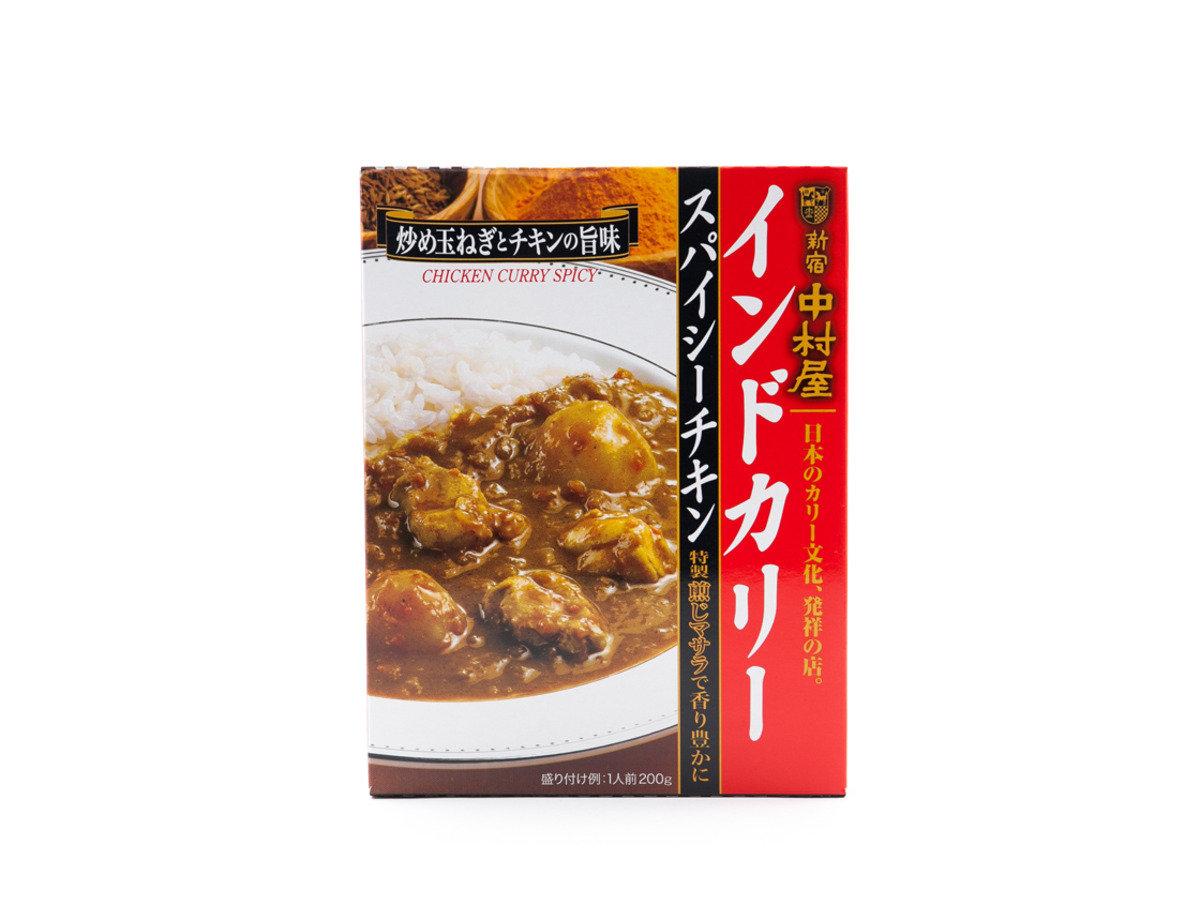 日本110年歷史老舖(新宿中村屋) - 辣雞肉咖哩