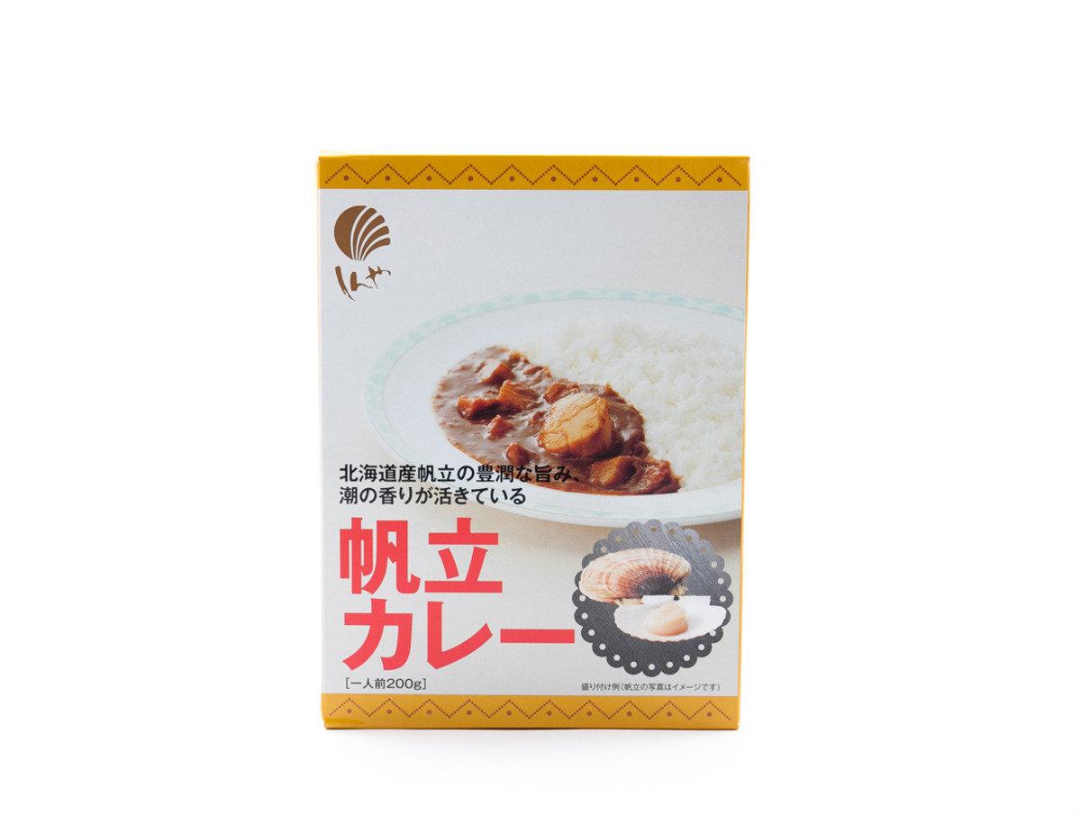 日本北海道著名海產加工場(帆立屋) - 帆立貝咖哩
