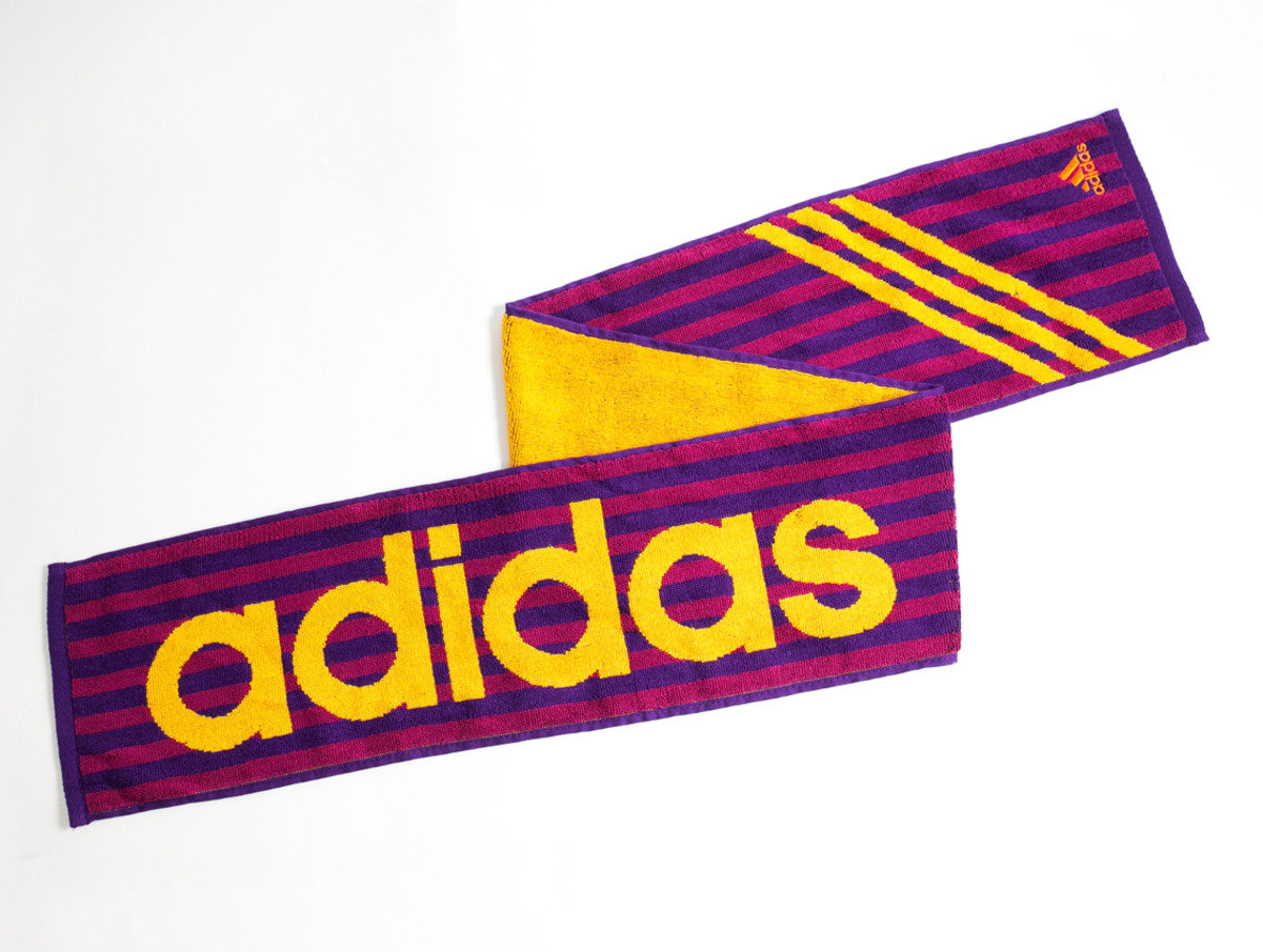 Adidas運動毛巾 110 x 15cm - 紫色(1014PU)
