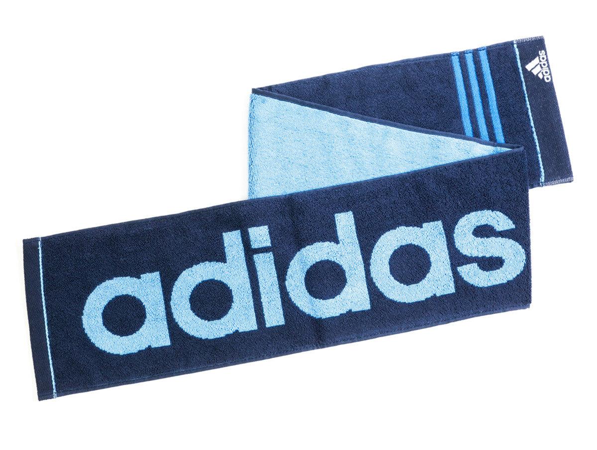 Adidas運動毛巾 110 x 15cm - 藍色(T122)