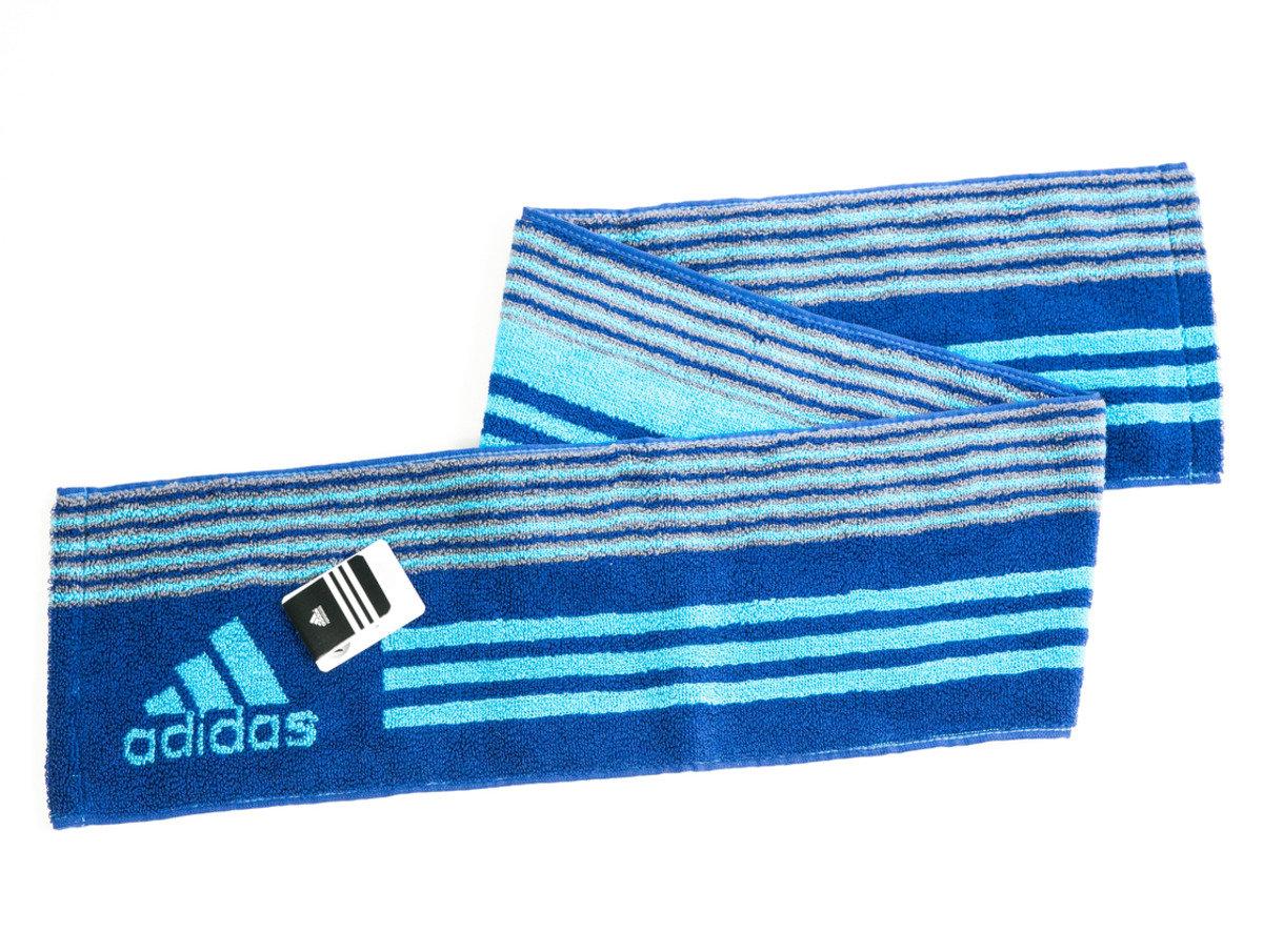 Adidas運動毛巾 110 x 15cm - 藍色(T180)