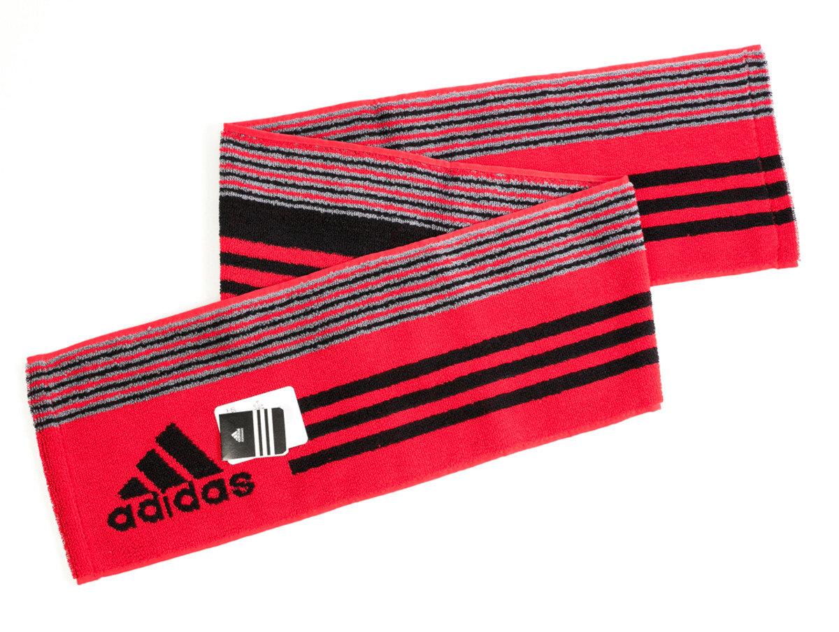 Adidas運動毛巾 110 x 15cm - 紅色(T180)