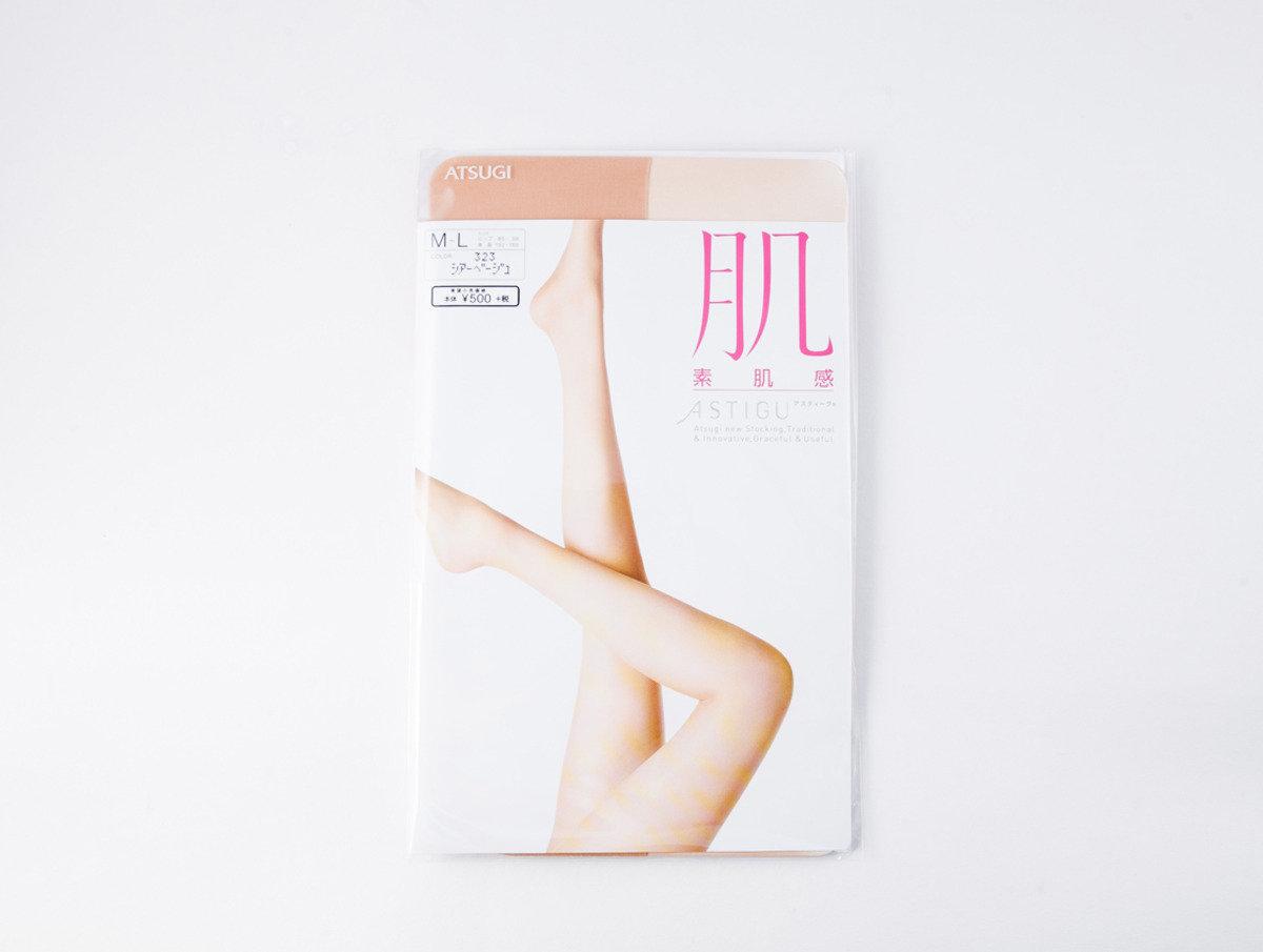 ASTIGU 絲襪系列 - 素肌感 米色M-L