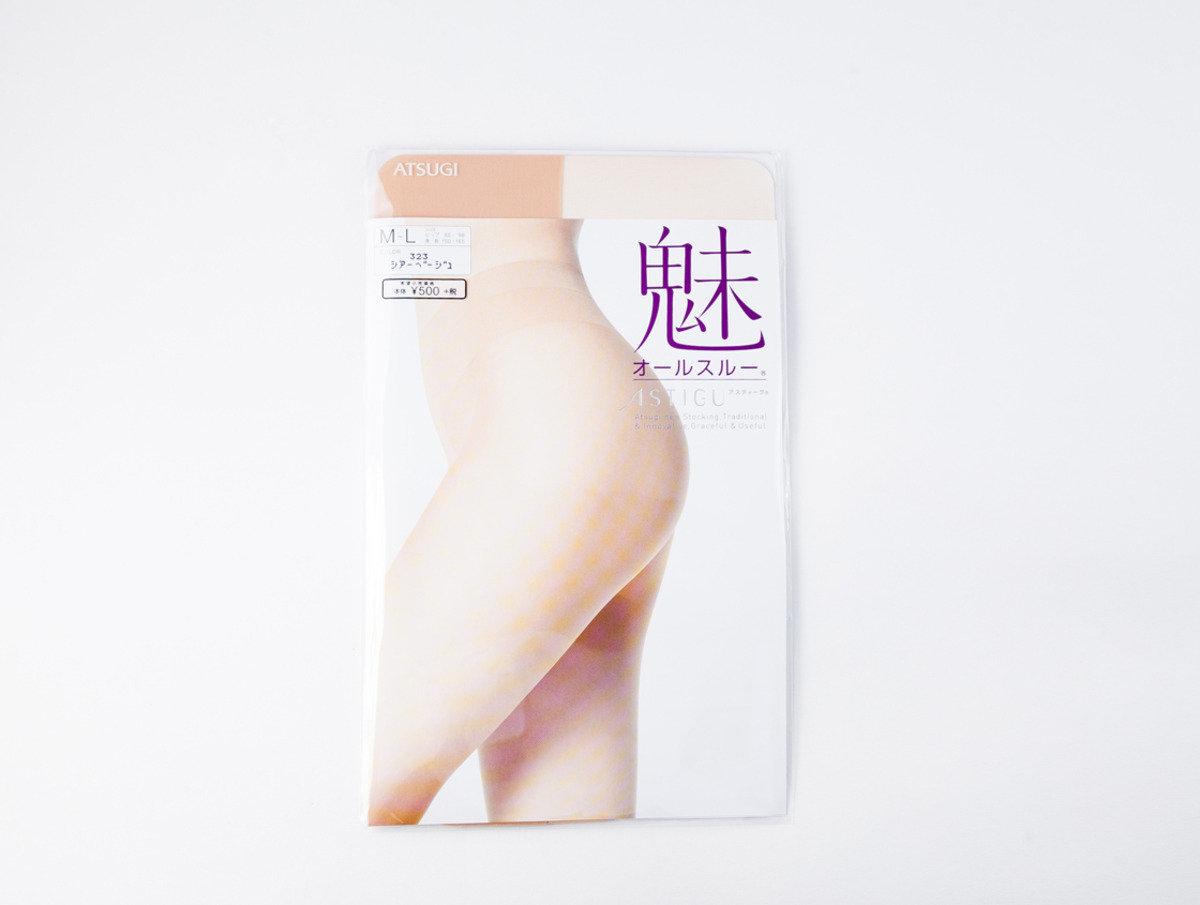 ASTIGU 絲襪系列 - 魅力無痕 米色M-L