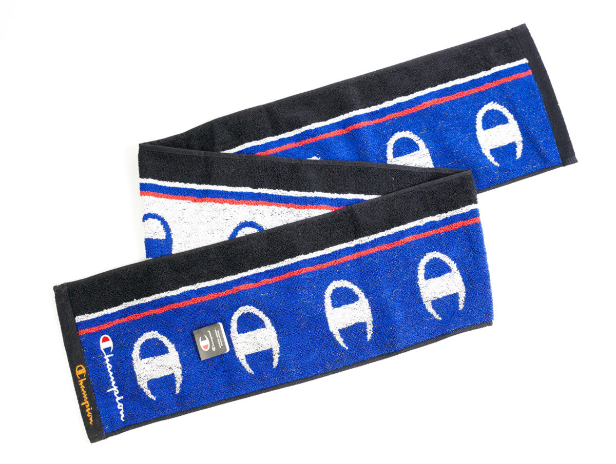 Champion 運動毛巾 120 x 15cm - 藍色(T107)