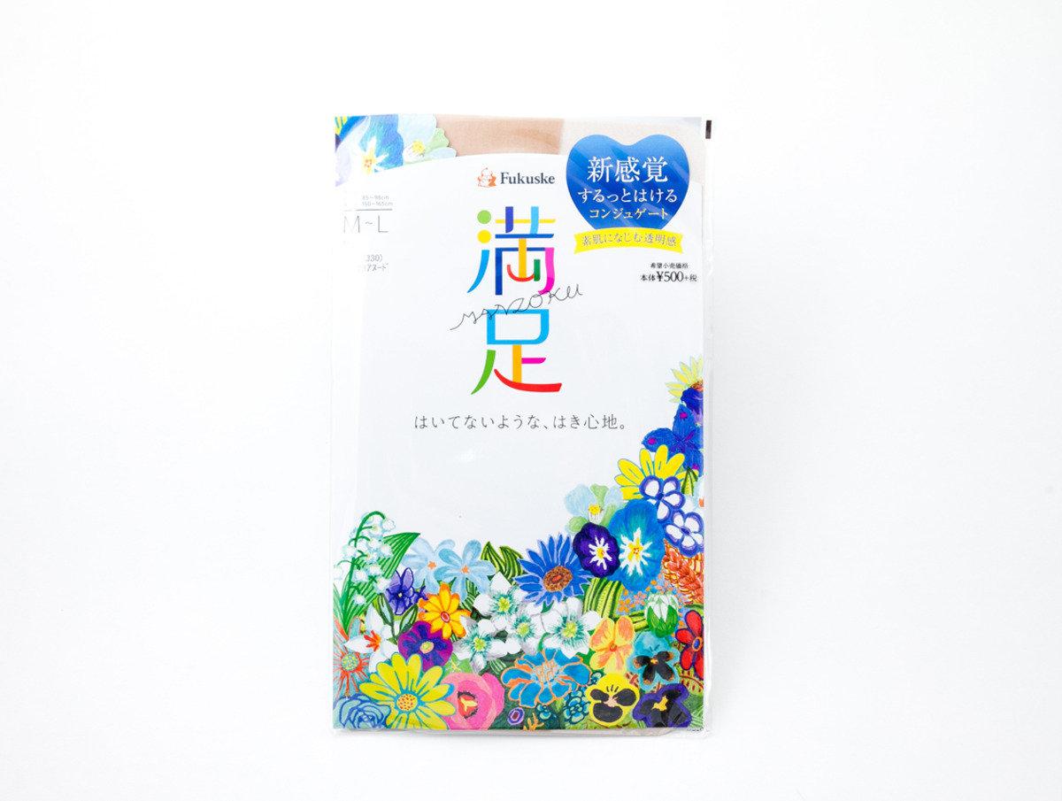 Fukuske 満足-素肌感系列 素肌色(330)M-L