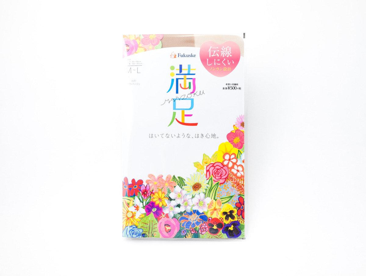 Fukuske 満足絲襪 米色(017)M-L