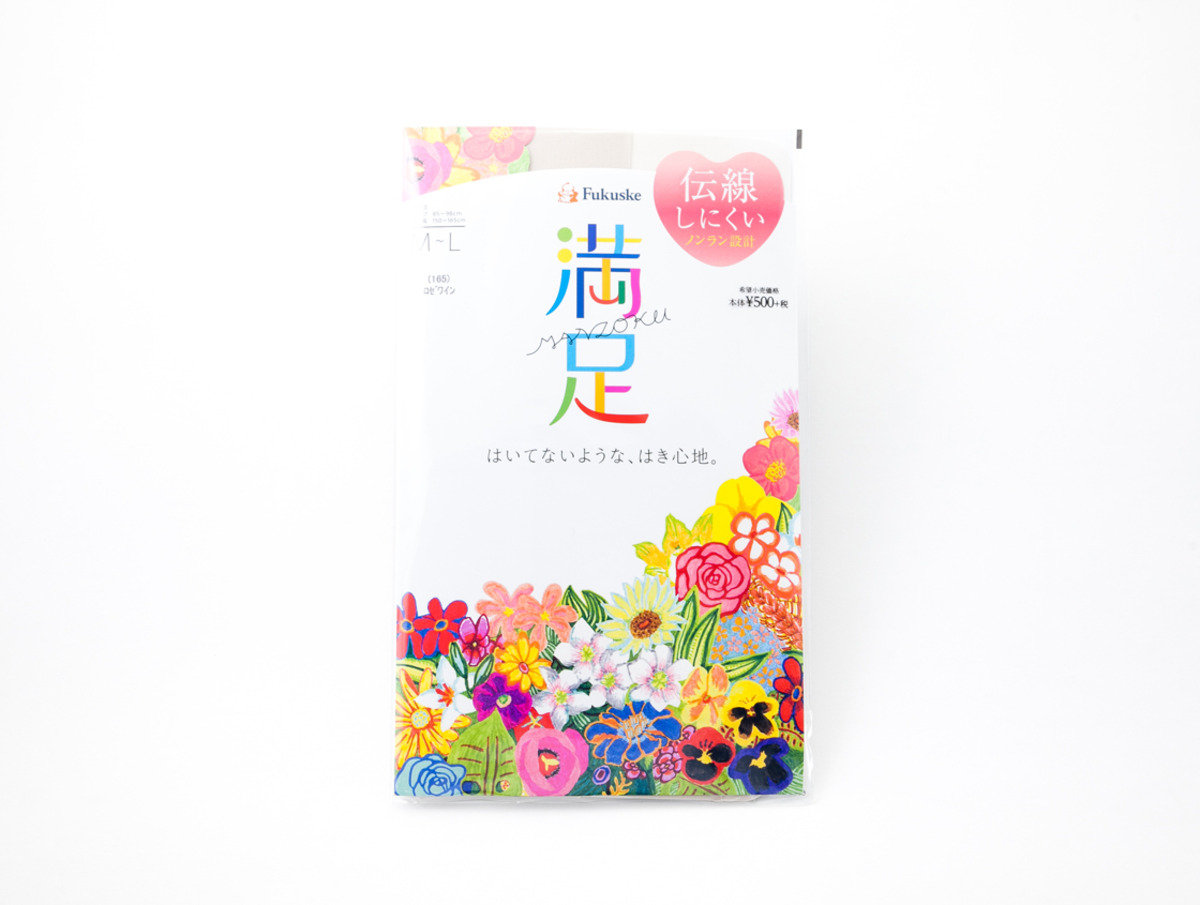 Fukuske 満足絲襪 桃紅色(165)M-L