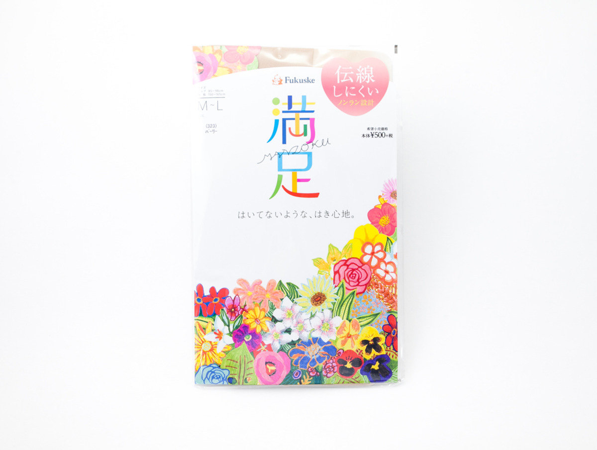 Fukuske 満足絲襪 米白色(323)M-L