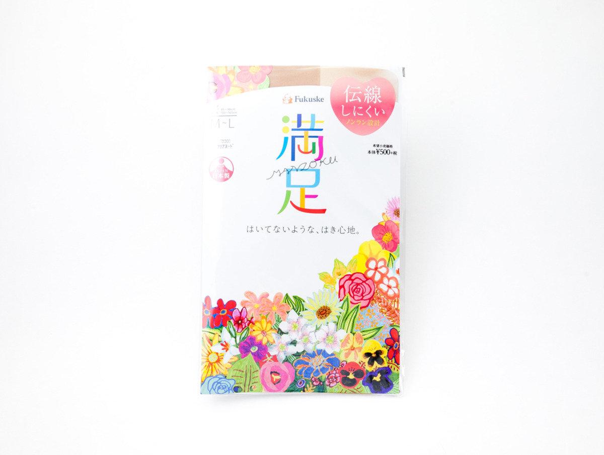 Fukuske 満足絲襪 素肌色(330)M-L