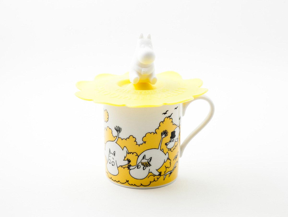 姆明陶瓷杯系列 - 姆明蓋杯