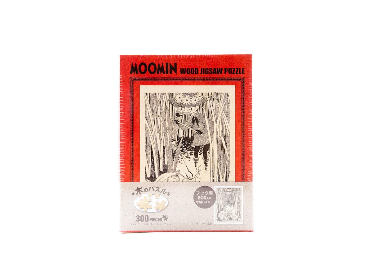 姆明系列 史力奇與阿美300塊木製拼圖