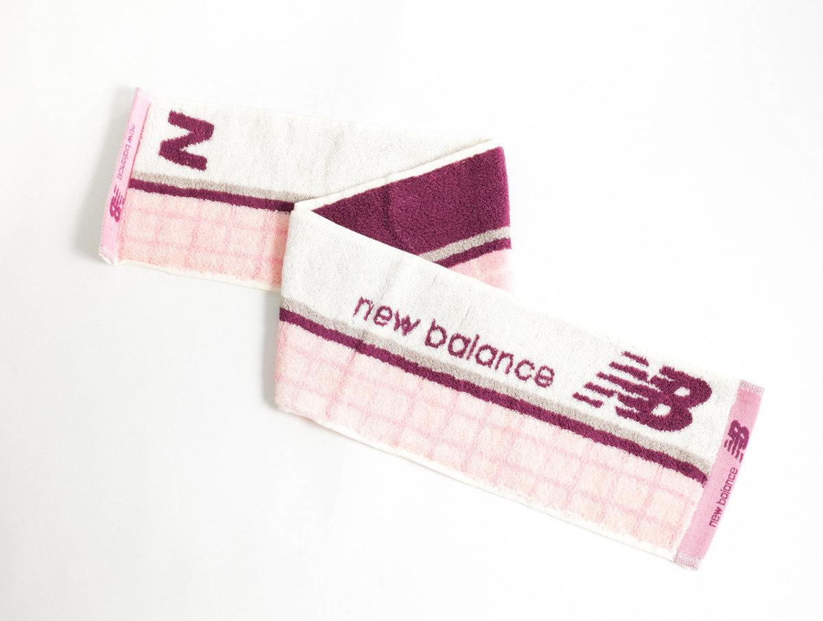New Balance 運動毛巾 90 x 15cm - 粉紅色(NB-2041)