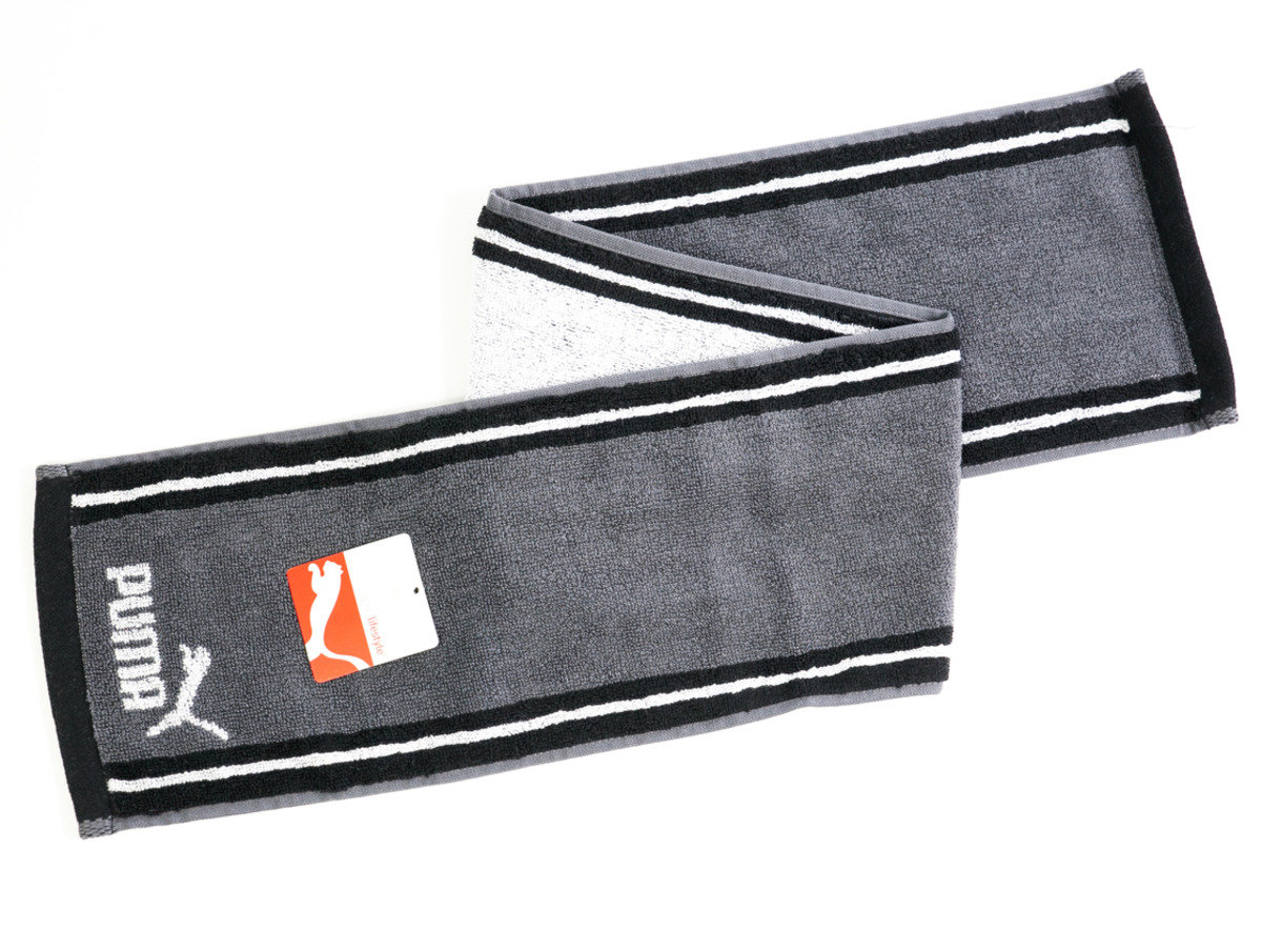 Puma 運動毛巾 90 x 15cm - 黑色(T133)