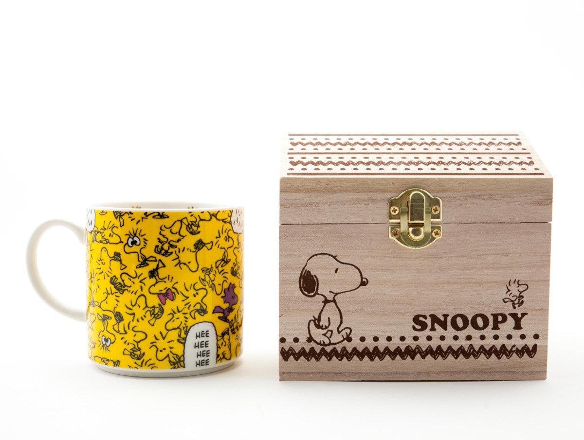 Snoopy 陶瓷杯木箱入(C304)