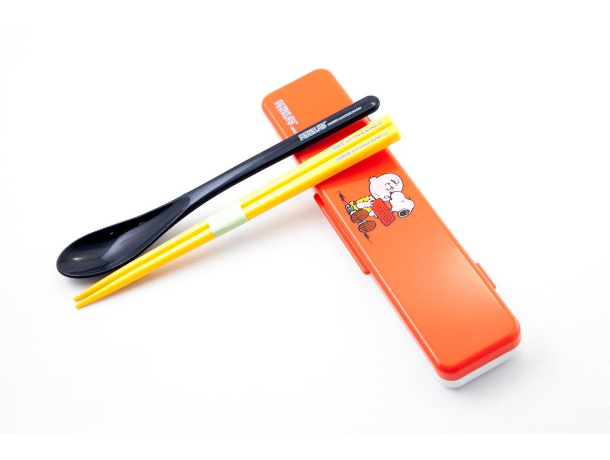 Snoopy史努比與查理 筷子及匙羹子組合(L444)