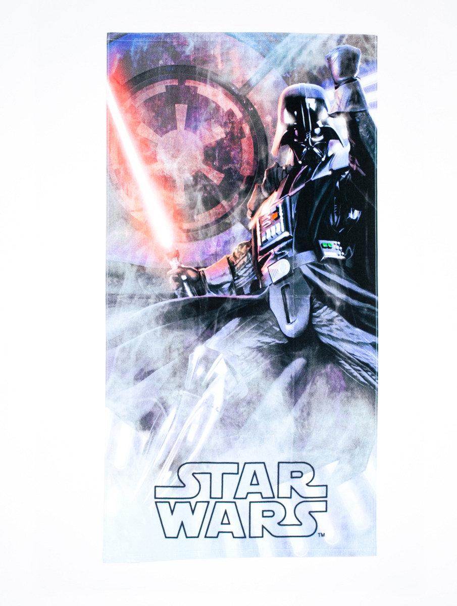 Star War 系列特大浴巾 (76 x 152cm) - 黑武士